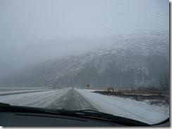 Alaska winter, Seward highway north to Anch